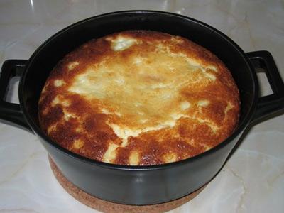 Творожно-картофельная запеканка