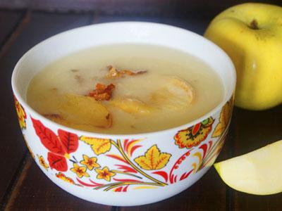 Яично-картофельный суп-пюре