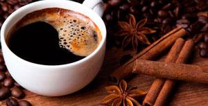 в чашке с кофе