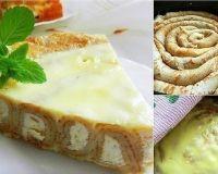 Блинный пирог с заливкой