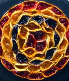 Пирог на скорую руку «Мозаика»