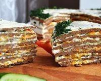 Печеночный торт «Освежающий»