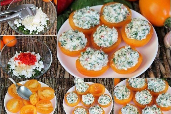 Закуска из томатов «Праздничная»
