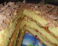 Тортик «Пышный» из творога