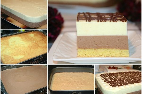 Легкий торт-десерт