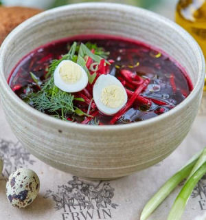 Холодный свекольник— летний суп