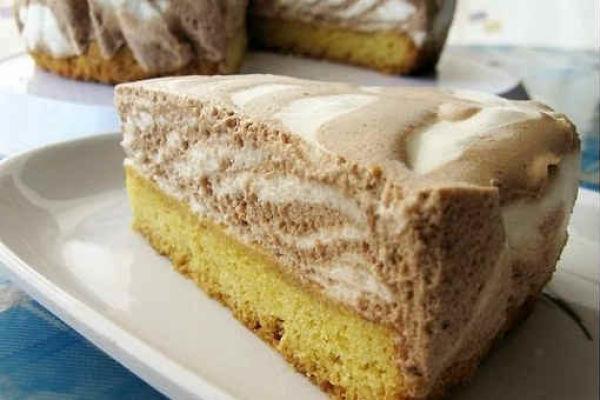 Торт «Пёрышко зебры»