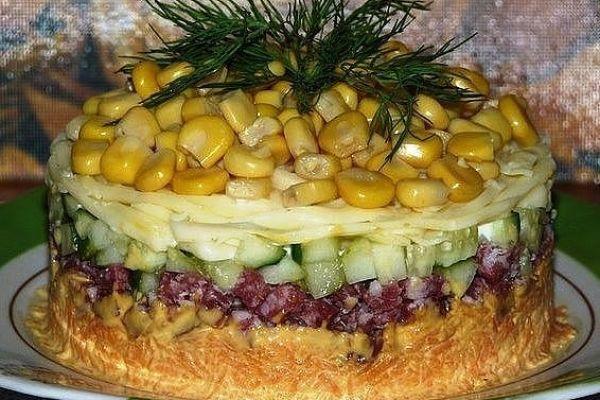 Салат «Осень»