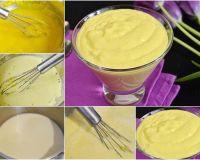 Классический рецепт заварного крема