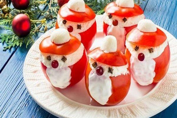 Нарядная закуска на Новый год— «Добрый Дедушка Мороз»
