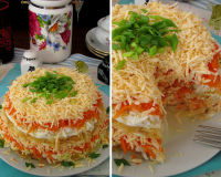 Бесподобно вкусный салат «Французский»
