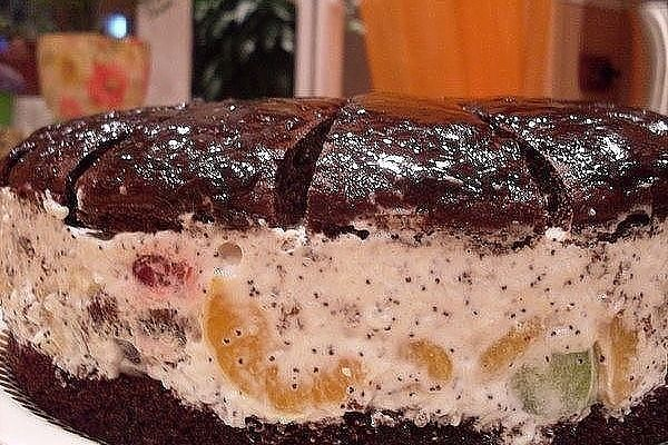 Торт «Африканская ромашка»