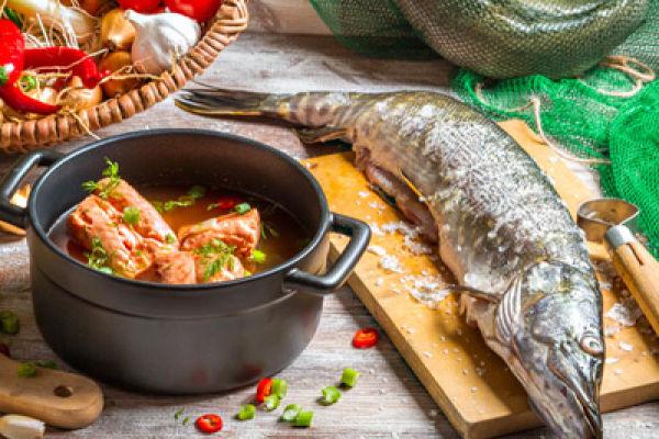 Диетические блюда из рыбы и кролика