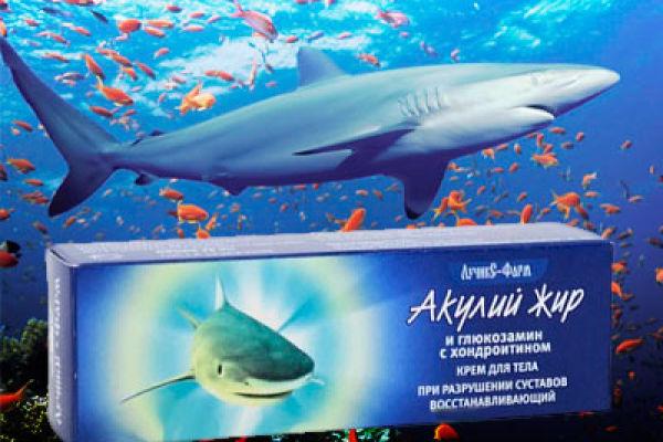 Помогает ли акулий жир при болях в суставах?