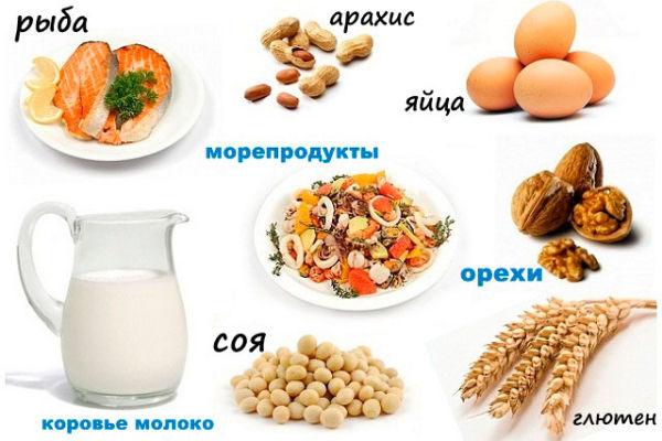 Питание при аллергии на коже— исключающая диета