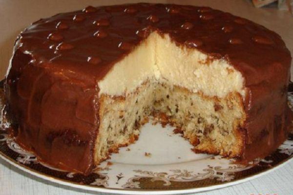 Тортик «Эскимо» очень нежный на вкус!