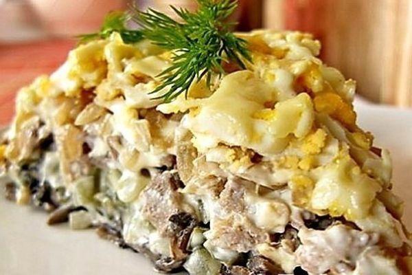 Фирменный салат минского ресторана «Орландо»