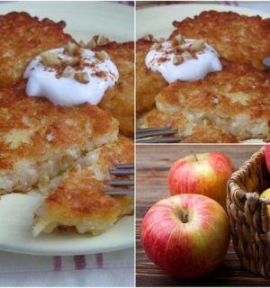 Яблочные драники