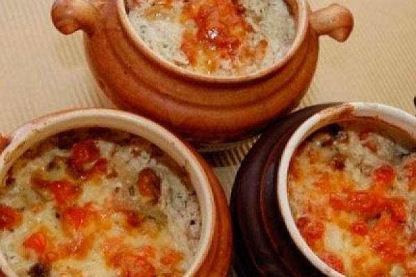 Овощи в горшочках для диетического стола