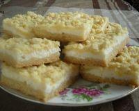 Тертые пирожные с творожной начинкой😃
