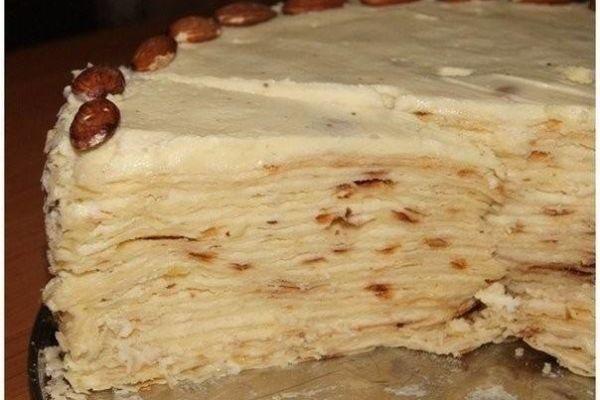 Торт «Наполеон» на сковороде