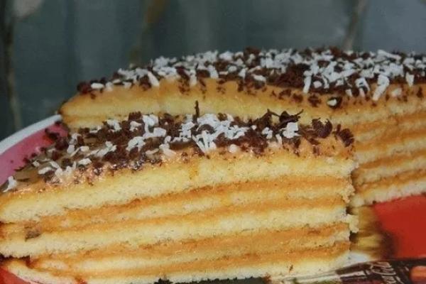 Очень простой тортик