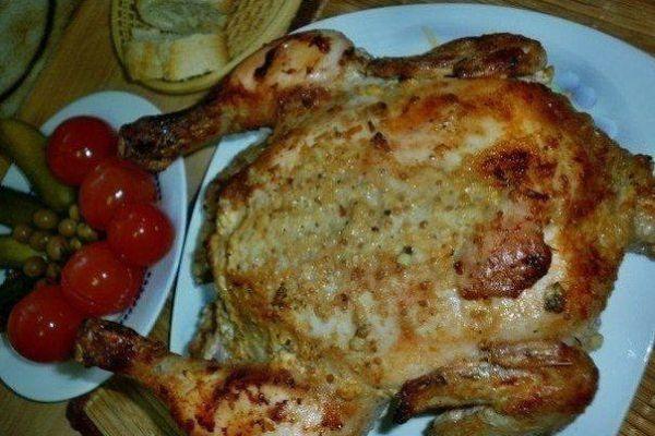 «Улетная» курица