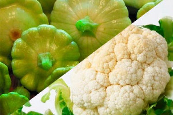 Как правильно отварить цветную капусту и патиссоны? Вкуснейший омлет из цветной капусты