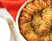 Такую оригинальную подачу ароматной картошки я еще не встречала