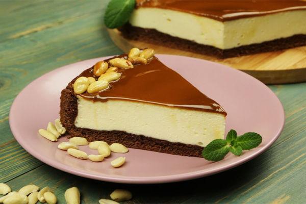 Творожный торт со сгущенкой