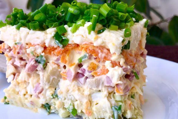 Топ-10 самых вкусных салатов с грибами