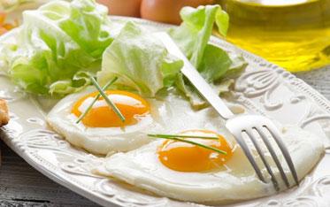 яйца жареные