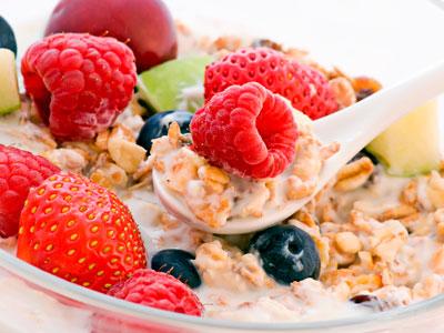 мюсли с фруктвми