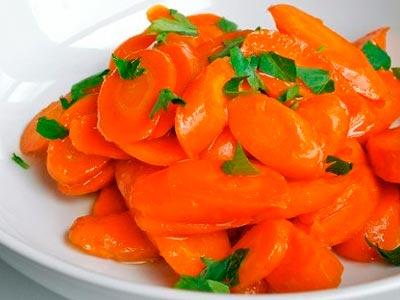 морковь в глазуре