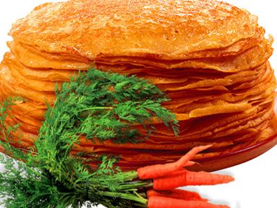 морковные блины