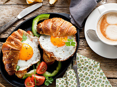 яичница и омлеты