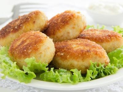 картофельные котлеты с отрубями