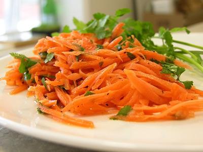морковный салат с петрушкой