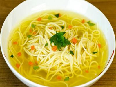 суп с лапшой