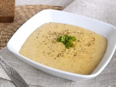 Овсяный суп-пюре