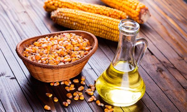 кукуруза и масло