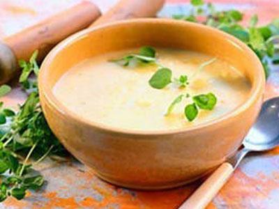 Сладкий суп (слизистый) с добавлением перловки и масла