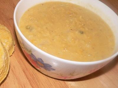 Суп сладкий (слизистый) с добавлением перловки