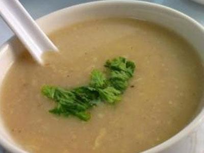 Перловый суп (слизистый)