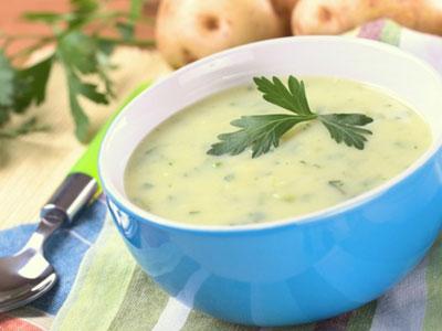Суп (слизистый) с добавлением перловки