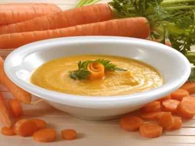 Морковное пюре