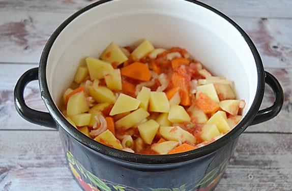 с морковкой