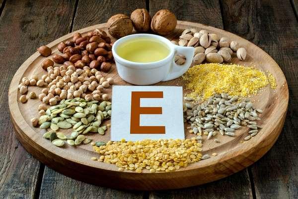 Суточная норма витамина Е (таблица)
